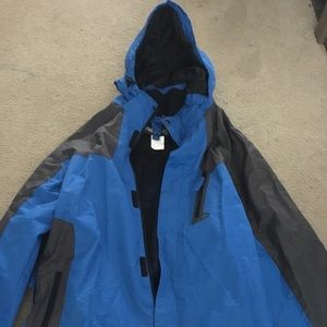 Other - Blue snow jacket